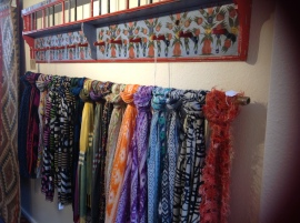 Part of scarf collectionh