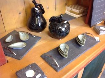 Slate and ceramics