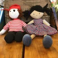 More rag dolls