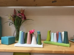 Small multi-stem vases