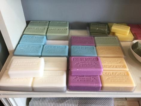 Marseilles soaps