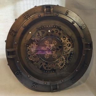 Steam Punk Cog Clock 65.5cm dia. (£165)