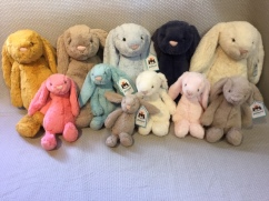 Jellycat Bunnies (Med £17.50 Small £11.99 Baby £8.60)