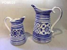 Pottery Jugs (27cm) £19.50 (20cm) £12.50