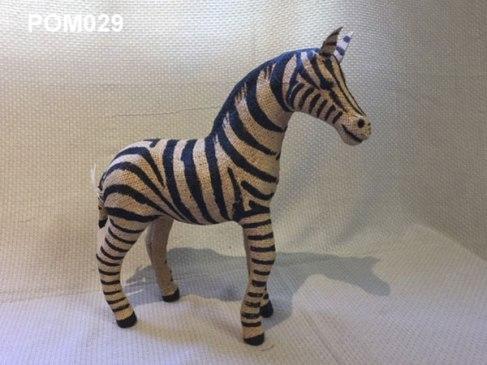 Jute Zebra (30cm) £15.50