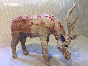 Febric stag (26 cm) £22.50