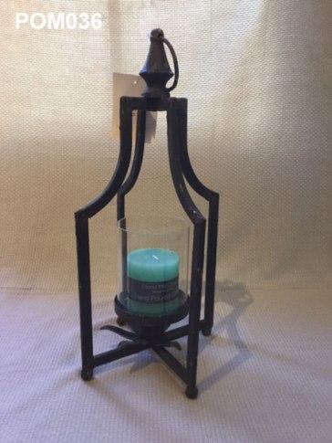 Iron Lantern (42 x 15cm) £19.50