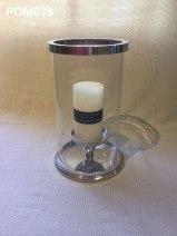 Aluminium Hurricane Lamp (19 cm) £26.50