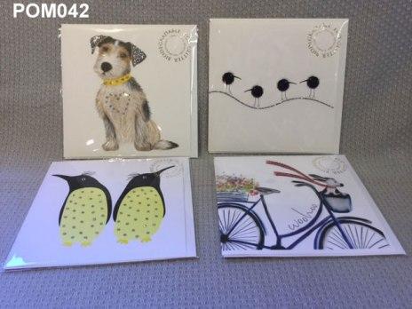 Glitter cards £3.60 ea